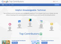 Top Contributors are the most active and knowledgeable people you'll find in Google's Help Forums. Globally, they help millions of people get their questions answered and keep the forums humming with interesting discussions.