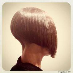 Chic Gray Blunt Haircut - 50 Spectacular Blunt Bob Hairstyles - The Trending Hairstyle Blunt Bob Hairstyles, Blunt Haircut, Bob Haircuts For Women, Short Bob Haircuts, Undercut Hairstyles, Trending Hairstyles, Straight Hairstyles, Undercut Bob, Shaved Nape
