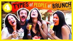 Which type of person at brunch are you? In this sketch comedy video, we look at the types of girls you might find at brunch: The Birthday Girl, The Foodie So. Types Of Girls, Types Of People, Relationship Gifs, Relationships, Single Girl Problems, Digital Detox, The Girlfriends, Girl Guides, Snl