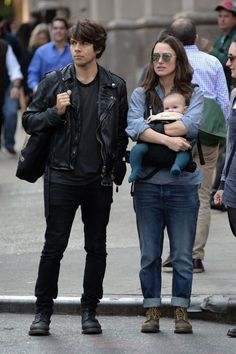 Keira, James and little Edie.