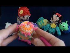 オリジナルTSUMの編み方② - YouTube