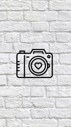 Book Instagram, Instagram White, Vintage Instagram, Instagram Logo, Instagram Design, Hamsa Art, Minimalist Icons, Insta Icon, Camera Icon