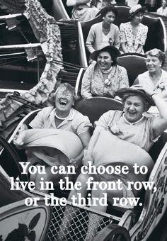 Photo by Grace Robertson - so true!