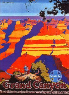 Railways Santa Fe Grand Canyon Photo Mug Gourmet Tea Gift Basket