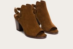 Dani Shield Sling by Frey Boots In black or taupe!