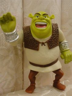 Shrek Cake Topper from Movie Forever After - He Talks!