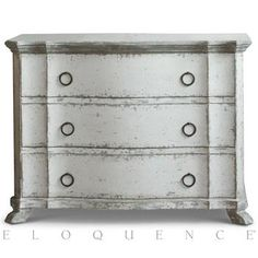 Eloquence® Petit Bordeaux Commode in Stone