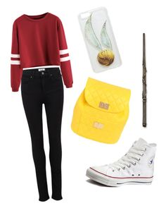 """""""Untitled #117"""" by madalenacosta00 on Polyvore featuring Paige Denim, Converse and Design Inverso"""