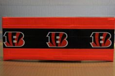 Duct Tape Wallet (Bi-Fold) - Cincinnati Bengals, $15.  We are also on Etsy at:  www.junorduck.etsy.com.