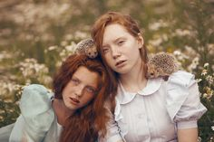 Russische fotografe maakt sprookjesachtige foto's met ECHTE dieren | Flabber