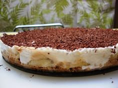 banofee pie. You can buy the soy caramel from Angel Foods in New Zealand