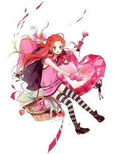 Chocolat gets a jackpot heart! By 1644297 Manga Girl, Manga Anime, Prince Charmant, Japanese Cartoon, Kawaii, Anime Dolls, Magical Girl, Sugar Sugar, Vanilla Sugar