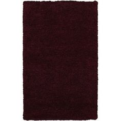 Shop for Rizzy Home Commons Hand-Tufted Purple Solid Area Rug (5' x 8'). Get free shipping at Overstock.com - Your Online Home Decor Outlet Store! Get 5% in rewards with Club O! - 17406310