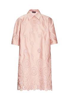 ROCHAS San Gallo Duchesse-Lace Dress. #rochas #cloth #dress