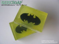 Batman soap.