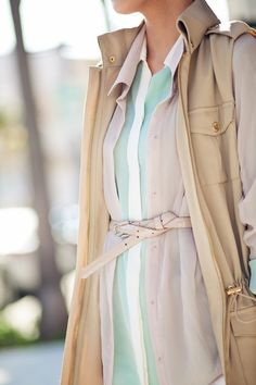 Love the mint and belt