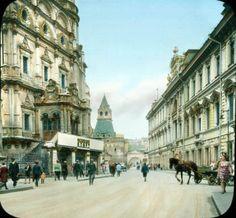 Редчайшие снимки Москвы 1931 года в цвете (77 фото)