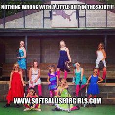 team photo, love it for a little girls softball team!