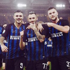 """""""Inter"""" for the first time since 2012 won four away matches in a row 👏 Milan, Mauro Icardi, Football Team, Gorgeous Men, Soccer, Baseball Cards, Instagram, Funny, Sports"""