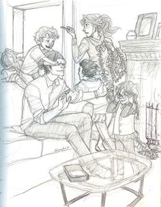 """Anything and everything about Harry James Potter and Ginevra (""""Ginny"""") Molly Weasley from JK Rowling's Harry Potter series. Fanart Harry Potter, Harry Potter Drawings, Harry Potter Fandom, Harry Potter World, Harry Potter Memes, Burdge Bug, Harry And Ginny, Harry James, Desenhos Harry Potter"""