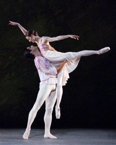 Julie Kent and Marcelo Gomes in The Leaves are Fading...beautiful.
