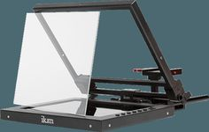 PT1200   We include scientific grade, made in America, teleprompter glass. You don't have to worry about how the glass will affect your image.