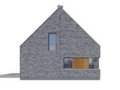 DOM.PL™ - Projekt domu DZW ATRAKCYJNY 2 CE - DOM DW1-14 - gotowy koszt budowy Dom, Home Fashion, Cabin, Architecture, House Styles, Home Decor, Homemade Home Decor, Cabins, Cottage