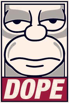 Homer Dope   Vasstnuvo Tumblr #vasstnuvo #tumblr #homer