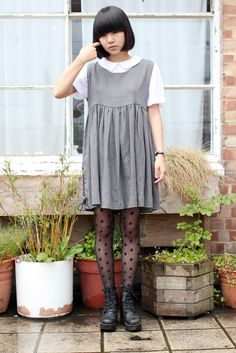 Grey Lace Side Sleeveless Mini Dress