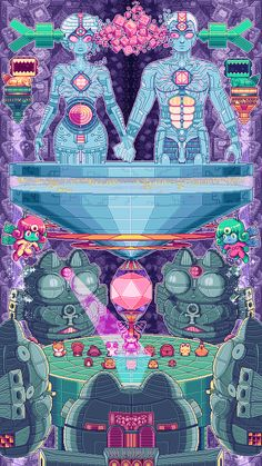 The Psychedelic Pixel Art Sprites Of Paul Robertson (6)