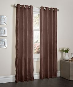 This Latte Crush Curtain Panel - Set of Two is perfect! #zulilyfinds