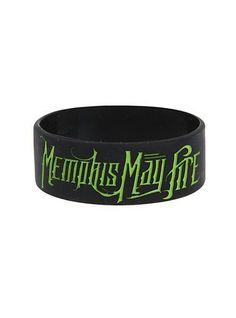 Best Bracelet 2017/ 2018 : Hottopic - Memphis May Fire Rubber Bracelet...