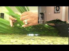 Weaved Palm Leaf Design - YouTube