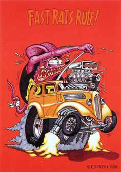 rat fink ed big daddy roth fast rats rule