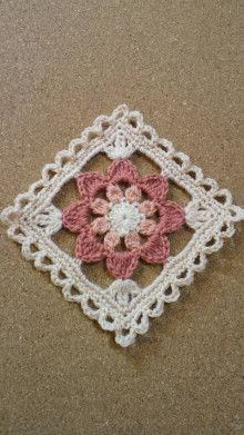 History of wild flowers of crafts - Crochet Clothing 2019 - 2020 Crochet Doily Rug, Crochet Cross, Crochet Tablecloth, Crochet Gifts, Crochet Yarn, Crochet Stitches, Crochet Blocks, Granny Square Crochet Pattern, Crochet Squares