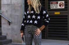 An prime example of unexpected layering that surprisingly works. #refinery29 http://www.refinery29.com/2016/05/111596/sydney-fashion-week-resort-2016-street-style-pictures#slide-24