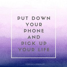 Minimalism Quotes : Pick up your Life