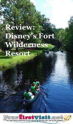 Review Disney's Fort Wilderness Resort from yourfirstvisit.net | Disney Resorts…