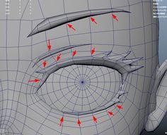 第2回:モデリングその① ~キャラの命!顔と髪編~ | Autodesk :: AREA JAPAN | コラム