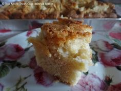 I've been wanting to bake this for ages ever since I researched Dorset bakes when I mistakenly thought that the August Best of British . Apple Traybake, Cored Apple, Mondays, Tray Bakes, Eat Cake, Muffin, Favorite Recipes, Baking, Breakfast
