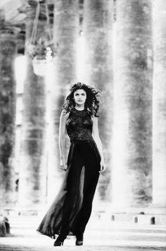 Helena Christensen Photography by Max Vadukul For Vogue Magazine UK November 1992