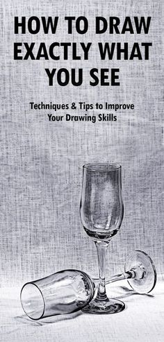 Learn to draw and sketch with these easy drawing tips. Read step-by-step instructions (with pictures) explaining how to draw what you see. If you want to be able to draw realistically, these 12 drawing techniques will help improve your drawing skills. You Draw, Learn To Draw, What To Draw, How To Learn Drawing, What You See, How To Draw Good, Good Things To Draw, How To Shade Drawings, Learn Sketching
