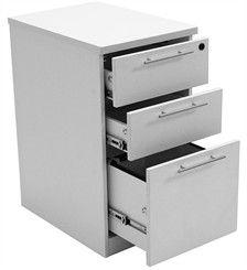 mobile deskside boxboxfile cabinet 329 from the laminate desk company