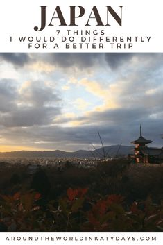 While our trip to Japan was wonderful, it was definitely far from perfect. We do...
