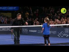 Ben Stiller gets owned by little girl at tennis - You couldn't even beat her with Nadal on your team?
