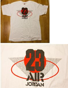 AJ 3 - White colour range Basic Tee 1988