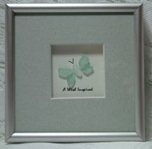 Image detail for -Handcrafted Art, featuring genuine beach glass from the shores of the ...