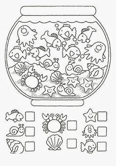 Crafts,Actvities and Worksheets for Preschool,Toddler and Kindergarten.Lots of worksheets and coloring pages. Preschool Worksheets, Preschool Learning, Preschool Activities, Counting Worksheet, Teaching, Learning Skills, Number Worksheets, Writing Activities, Early Learning