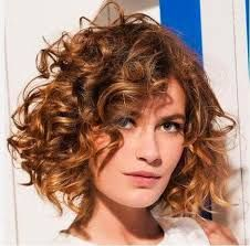layered curly hair A Southern lady knows how to accessorize, from her heirloom jewelry to her bold red lip. But if shes a curly girl, she knows her greatest accessory is God-given an Short Curly Hairstyles For Women, Haircuts For Curly Hair, Short Bob Haircuts, Curly Hair Cuts, Hairstyles Haircuts, Curly Hair Styles, Natural Hair Styles, Curly Short, Medium Hairstyles