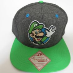 bd159df2d 44 Best Super Mario Bros Hats & Snapbacks images in 2018 | Baseball ...